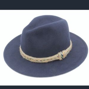 Accessories - Wide Brim Brixton Fedora Hat